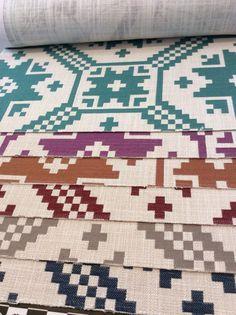 Tecidos com texturas da nova colecao Gaston Y Daniela 2015 exclusivo Safira