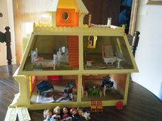 The Littles Doll house! named all my dolls after General Hospital characters!!