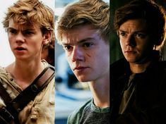 The Maze Runner, The Scorch Trials, The Death Cure