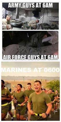 Marines, you know it's true