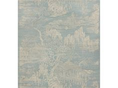 Brunschwig & Fils LOYANG ON SISAL & COTTON CREAM ON ICEBERG BR-69489.200 - Brunschwig & Fils - Bethpage, NY, BR-69489.200,Brunschwig & Fils,Print,Light Blue,Up The Bolt,USA,Yes,Brunschwig & Fils,LOYANG ON SISAL & COTTON CREAM ON ICEBERG