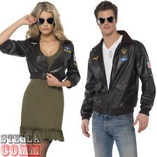 Top Gun Bomber Jacket Adult Costume Male | Sunglasses Bomber