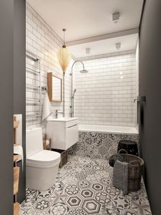 36 Trendy Bathroom Shower Tile Design Walk In Layout Trendy Bathroom, Bathroom Wallpaper, Best Bathroom Tiles, Bathroom Makeover, Eclectic Bathroom, Amazing Bathrooms, Bathroom Flooring, Bathroom Design, Small Bathroom Makeover