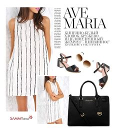"""""""Sammydress 2/4"""" by merima-kopic ❤ liked on Polyvore featuring Privé, MICHAEL Michael Kors and sammydress"""