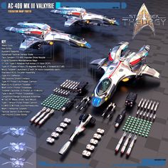 These are the warp fighters the pilots on the U.S.S. Resolve and the U.S.S. Harbinger use in Star Trek: Theurgy. The first design of the Gryphon-class Warp Fighters were made by Andrew Gillespie (K...