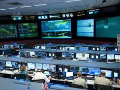 NASA - Space Station Flight Control Room