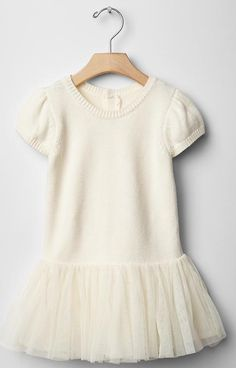 Ballerina sweater dress #gap