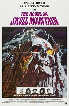 The House On Skull Mountain 1974 NR Uncut Horror Victor French DVD Very rare and hard to find out of print classic horror film. This movie is a DVD transfer to a brand new high quality DVD-R disc. Howlin' Wolf, Joss Stone, Joe Cocker, Horror Movie Posters, Movie Poster Art, Cinema Posters, Horror Books, Horror Films, Victor French