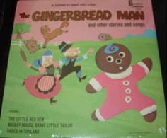 Various - The Gingerbread Man And Other Stories And Songs