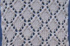 Ajurlu örgü modeli Knitting Patterns Free, Free Pattern, Baby Annabell, Knitwear, Buch Baby, Blanket, Lace, Stitches, Knitting Stitch Patterns