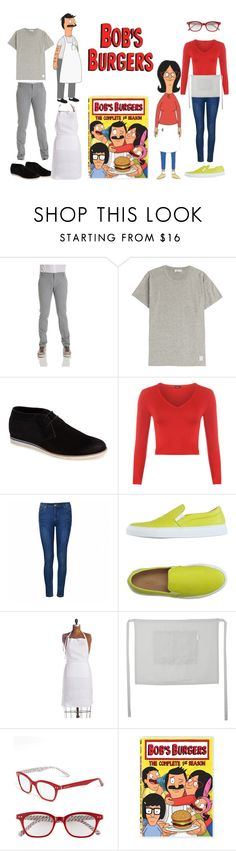 """bob's burgers"" by ldiaz362 ❤ liked on Polyvore featuring Entre Amis, Closed, Joe's, WearAll, Ally Fashion, P.A.R.O.S.H., Pom Pom at Home, Kate Spade, linda and BOB"
