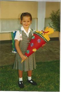 Corinna Rauter, 2001. DSW. Image : Familie Rauter