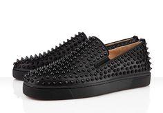 Roller-Boat Sneakers de Christian Louboutin, los tennis del punk casual en http://monkeyzen.com