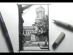Urban Sketching & Drawing Outdoor Scenes Pt 1 | Some basics - YouTube