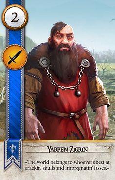 Yarpen Zigrin (Gwent Card) - The Witcher 3: Wild Hunt