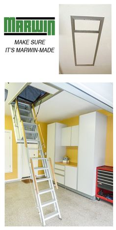 Access To Roof Space Via An Integral Ceiling Access Panel