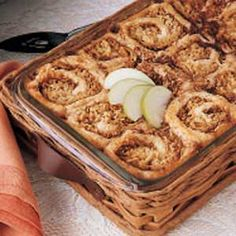 Apple Roly-Poly Recipe from Taste of Home (Untried) http://www.tasteofhome.com/Recipes/Apple-Roly-Poly