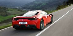 View 2014 Ferrari 458 Speciale Photos from Car and Driver. Find high-resolution car images in our photo-gallery archive. Magnificent Beasts, Ferrari Laferrari, Cool Sports Cars, Car Mods, Car Images, Car And Driver, Car Car, Hot Cars, Exotic Cars