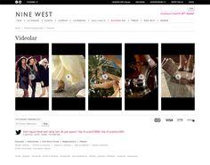 Ninewest Website (Turkey) by Twoogy , via Behance