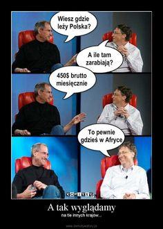 A tak wyglądamy Wtf Funny, Funny Memes, Hilarious, Jokes, Polish Memes, Good Mood, Best Memes, Sarcasm, Haha