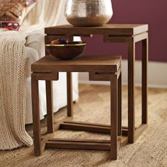 Nesting Tables Serena and Lily @Lauren Martinson