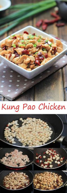 Authentic Kung Pao Chicken | China Sichuan Food