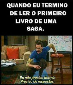Memes brasileiros amigos 42 Ideas for 2019 I Love Books, My Books, Wtf Funny, Funny Memes, Memes Status, World Of Books, Book Memes, Harry Potter Memes, Big Bang Theory