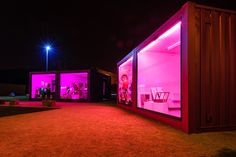 Art pods in vacant lots - The art pods are housed in customised shipping containers. The studios are multi-functional spaces where artists will be inspired to create and exhibit their work.