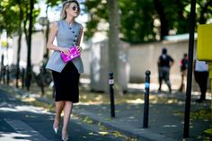 Paris Haute Couture Fall 2015 Street Style