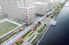 View the full picture gallery of River Park Waterfront Reconstruction Mini Site, Glass Pavilion, Walking Routes, River Park, Residential Complex, Urban Renewal, Public Garden, Main Entrance, Master Plan