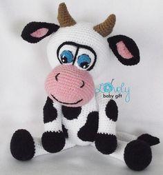 Ravelry: Cow amigurumi pattern by Viktorija Dineikiene