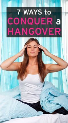 strategies for getting rid of a hangover