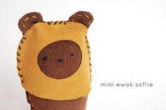 Ewok mini plushie ^_^