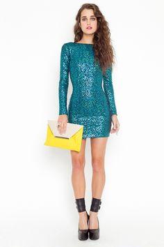 Nikki Sequin dress $88