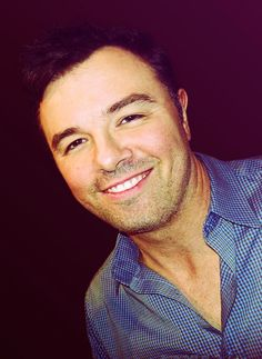 Seth MacFarlane - I'm such a sucker for brown eyes, and that voice...