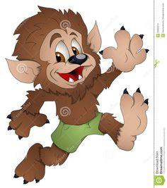Werewolf Cartoon Google Search Halloween Window Halloween Bags Monster Mash Frankenstein