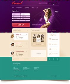 Casual by Cosa Nostra , via Behance