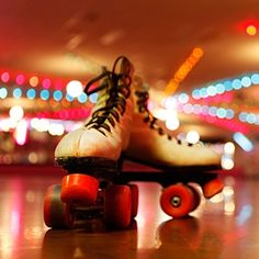 Go Rollerblading at a disco night!