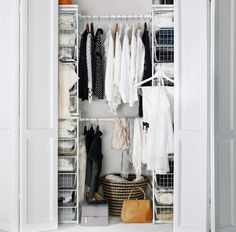 Forget smart. These closet organizers are genius! Check out the range of closets and closet organizers at IKEA Egypt.