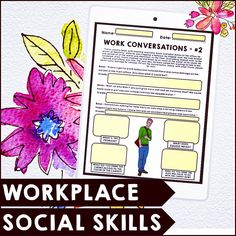 Workplace Social Skills Practice