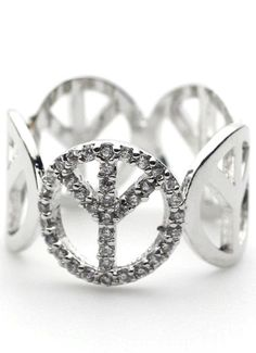 http://www.alllick.com/collections/the-peace-sign-collection *The peace sign symbolizes universal peace. The popularity of the symbol quickly spread and became a symbol of the peace movement in the United States. Now the peace symbol meaning is an internationally known symbol for peace among all people. Choose your peace on Alllick.