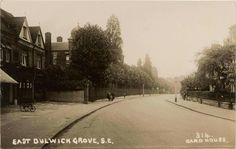 An Old Photo of East Dulwich Grove East Dulwich South East London England