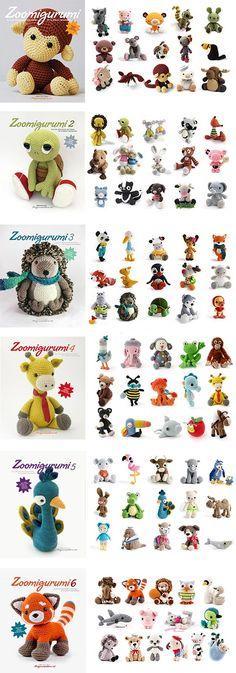 All Zoomigurumi characters