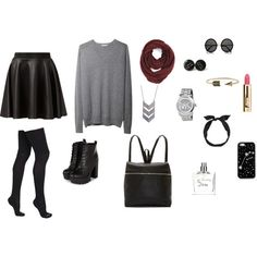 Back To School #6 - Polyvore
