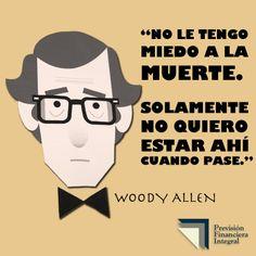 Frase de Woody Allen