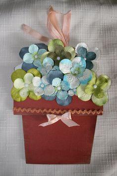 213 best flower pot card images on pinterest paper flowers flower flowerpot card mightylinksfo