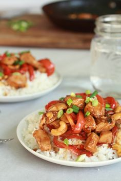 Healthy Kung Pao Chicken by halfbakedharvest #Chicken #Healthy #Kung_Pao