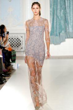 Erdem SS2012 - Stunning sheer lace dress