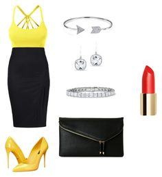 """""""Bez naslova #12"""" by semysemy ❤ liked on Polyvore featuring LE3NO, Bling Jewelry, Urban Expressions, Anne Sisteron and Dolce&Gabbana"""