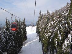 Ride down from Mount Pilatus Lucerne Switzerland
